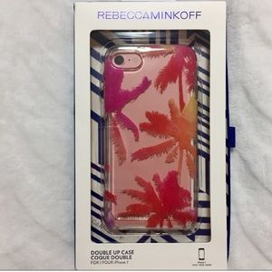 Rebecca Minkoff iPhone 7/8 case - palm trees